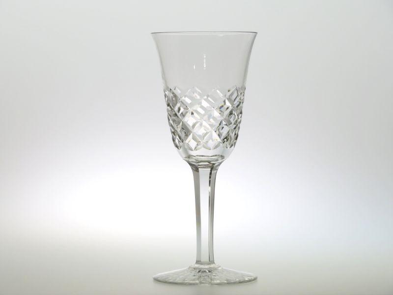 バカラ グラス ● ブルゴス ワイン グラス クリスタル ダイヤカット ヴィンテージ 18.5cm Burgos