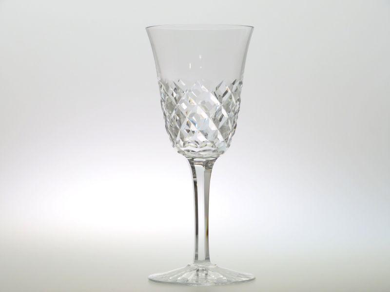 バカラ グラス ● ブルゴス ワイン グラス クリスタル ダイヤカット ヴィンテージ 18cm Burgos
