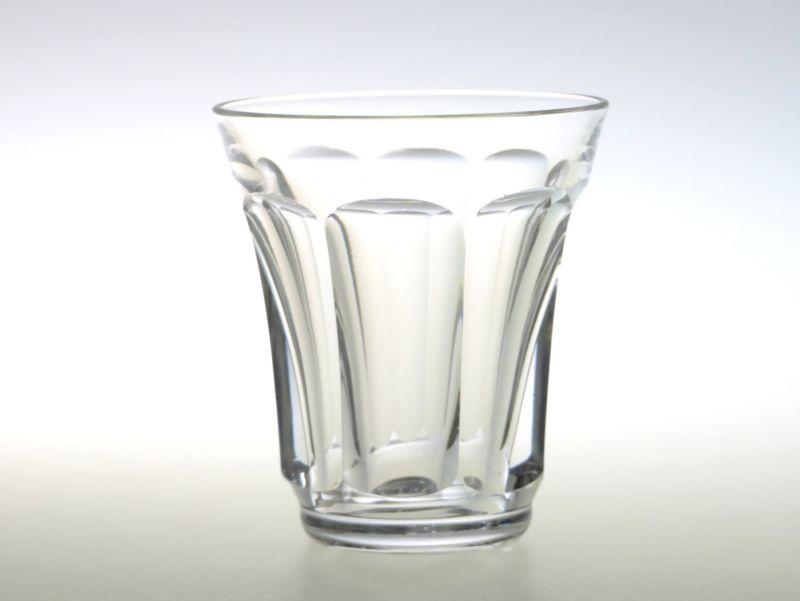 サンルイ グラス ● 丸いカット ショット グラス クリスタル C 少し訳あり 小傷あり 7cm