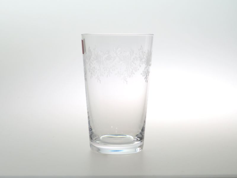 バカラ グラス ● セビーヌ ミニ タンブラー エッチング クリスタル 9cm Sevigne 未使用