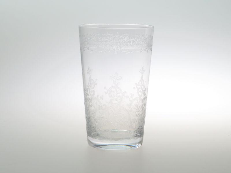 バカラ グラス ● ラファイエット ミニ タンブラー エッチング クリスタル 9cm Lafayette 未使用