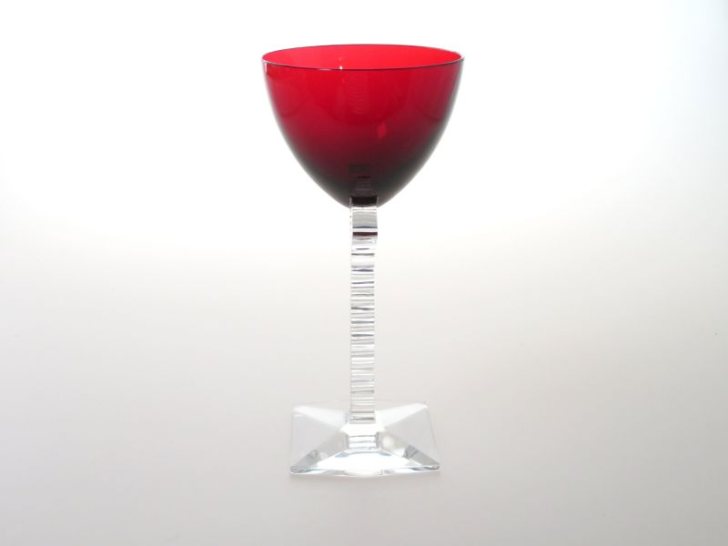 バカラ グラス ● オキシジェン ワイン グラス 赤 レッド クリスタル 希少 個性的 16.5cm Oxygene