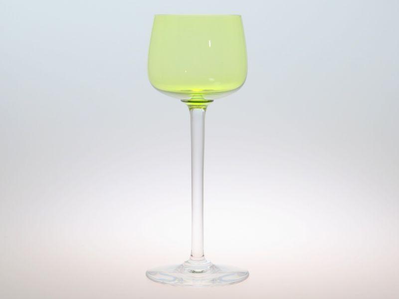 バカラ グラス ● 黄色 イエロー ホック ワイン ライン ワイン クリスタル 19.5cm