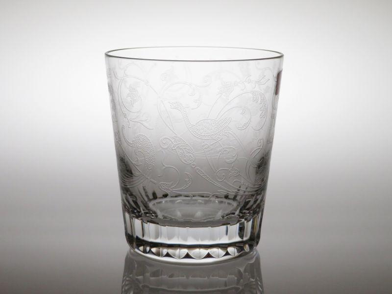 バカラ グラス ● パルメ ロック グラス オールドファッションド 刻印 サイン Parme