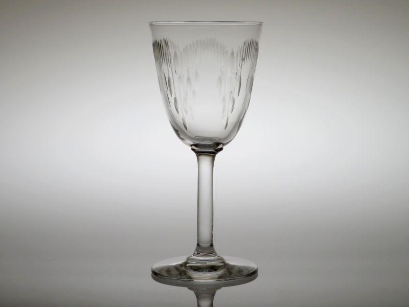 オールド バカラ グラス ● モリエール ワイン グラス 13cm アンティーク Moliere