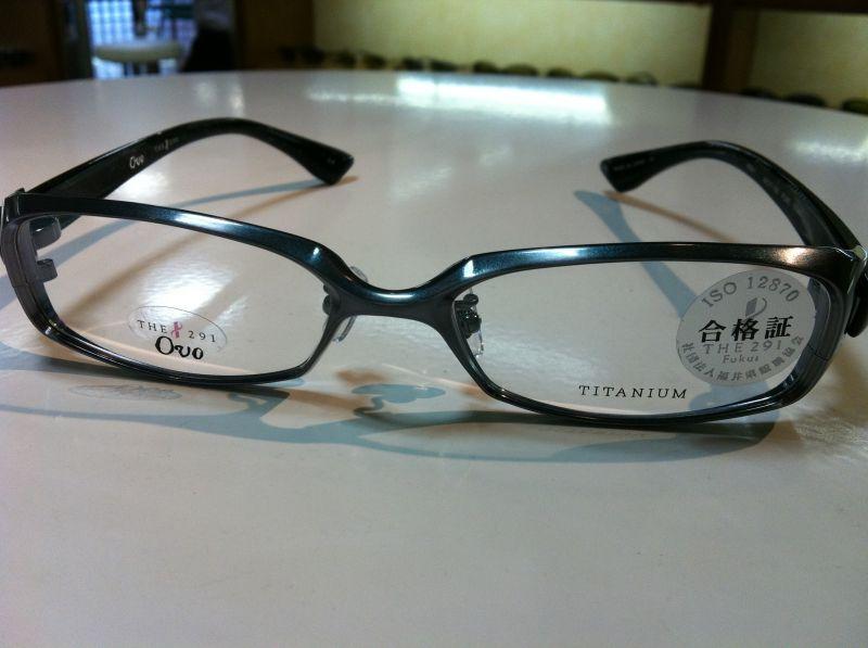 THE291 Fukui(ザ・291 フクイ)Ovo(ウォーヴォ)メガネフレーム(メタルフレーム)V509-1 3 56サイズ