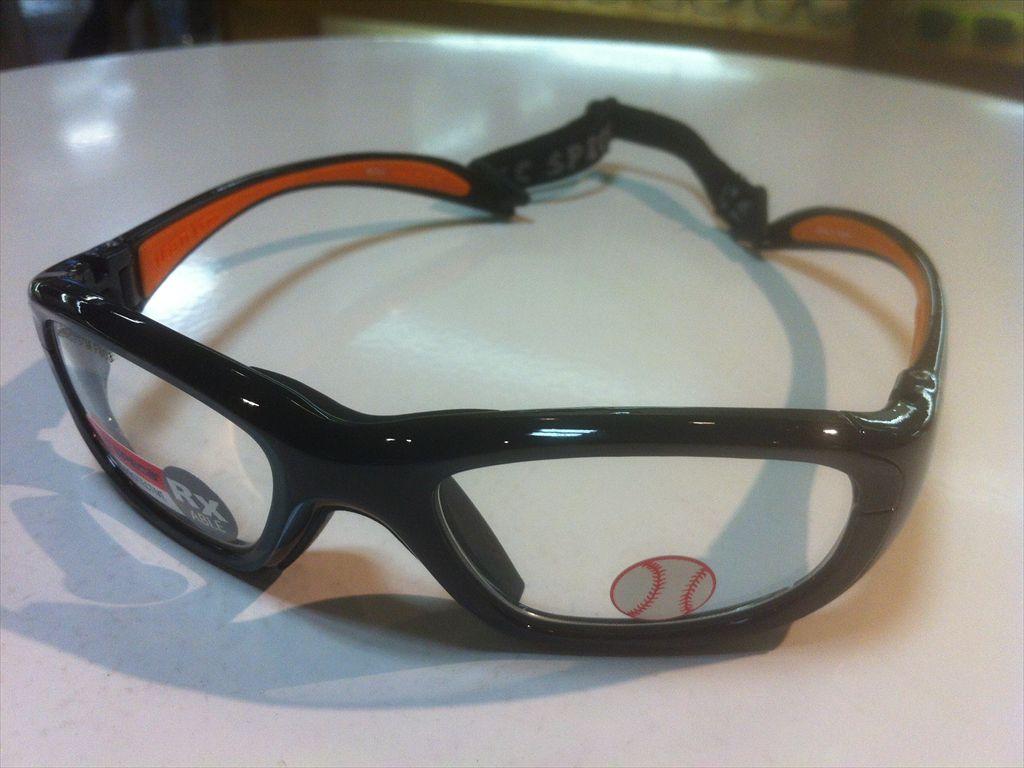 REC SPECS(レックスペックス)BASE BALL(ベースボール)MX-20B #200(ブラック/オレンジ)51サイズ子ども用スポーツメガネ子ども用スポーツゴーグル