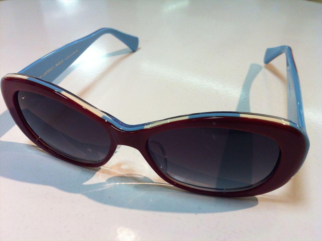 lafont(ラフォン)サングラス有名ブランドサングラスNOMINEE 6012(レッド/ライトブルー) 54サイズ