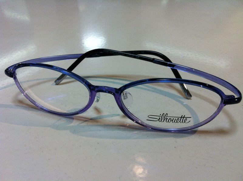 Silhouette(シルエット)SPX ART FULLRIM(SPXアートフルリム)メガネフレーム(セルフレーム)超軽量メガネSPX 1557 01 6053(パープル)49サイズ