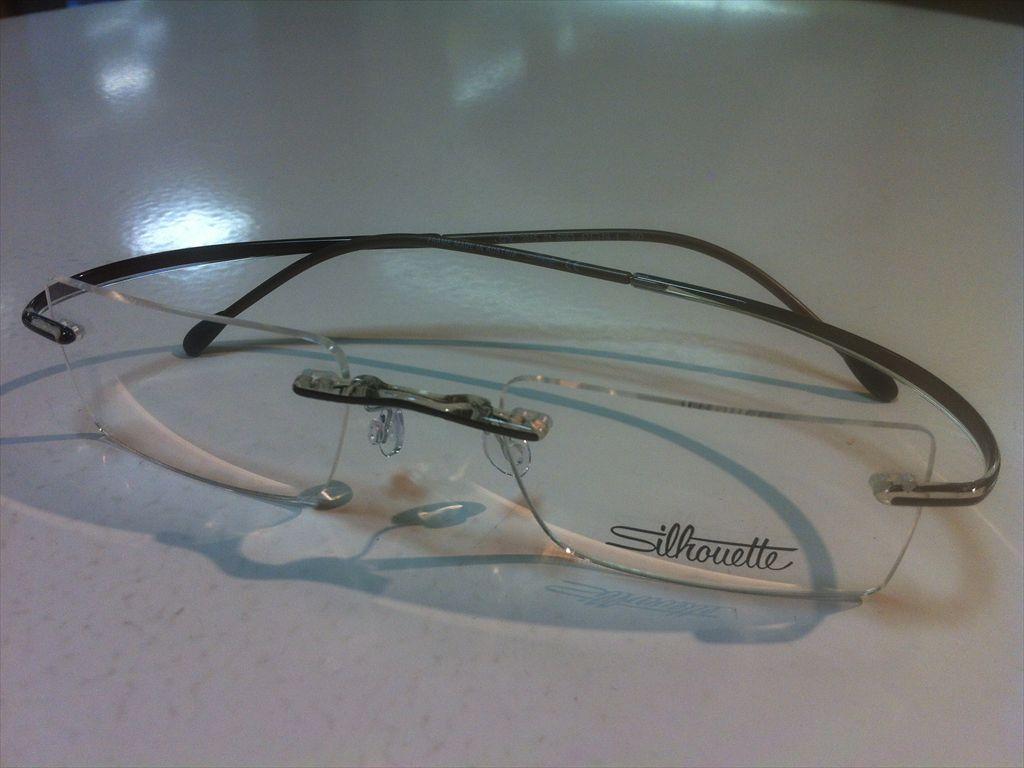 Silhouette(シルエット)minimalX(ミニマルX)SPX2815 01 6053(クリアブラウン)47サイズメガネフレーム(ツーポイントフレーム)超軽量縁なしメガネ