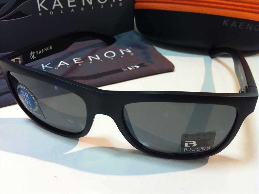 KAENON(ケーノン)CLARKE(クラーク)スポーツ用サングラス偏光サングラス028-03-G12M(BLACK LABEL)