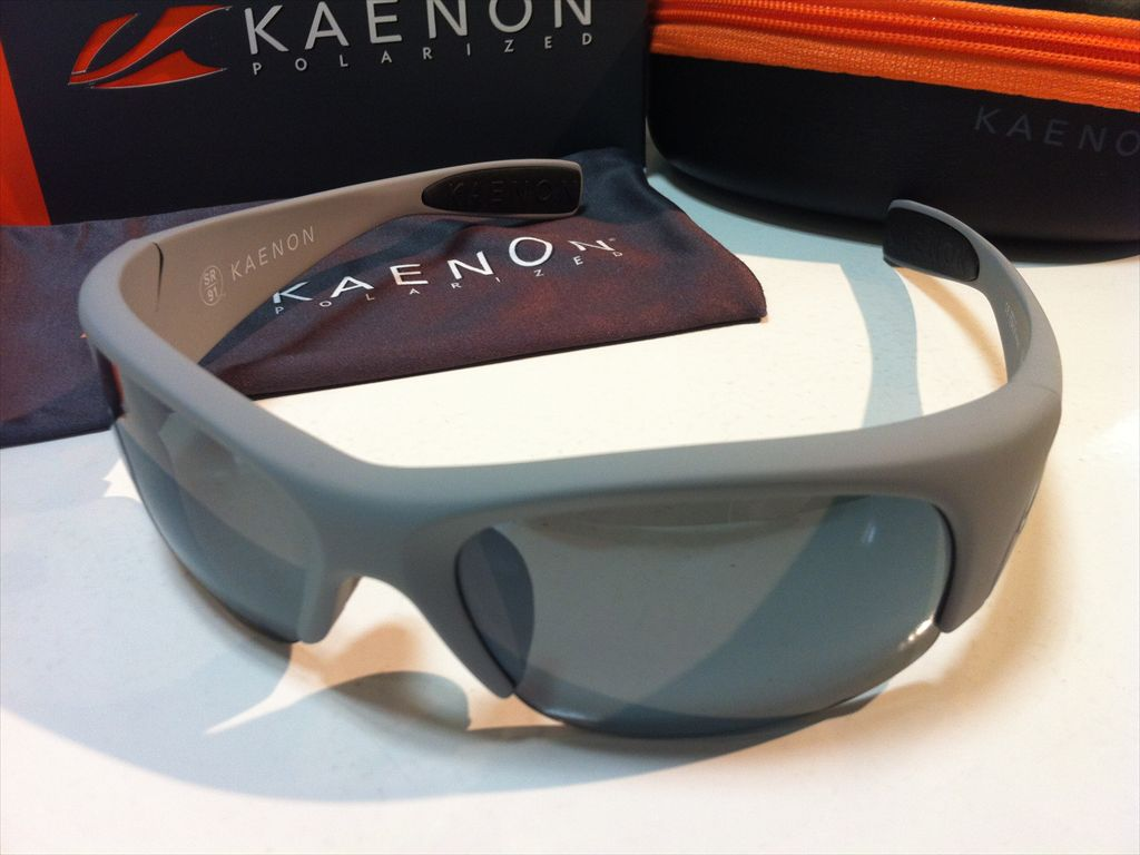 KAENON(ケーノン)HARD KORE(ハードコア)スポーツ用サングラス偏光サングラス007-17-G12-02(マットグレー/ブラック)