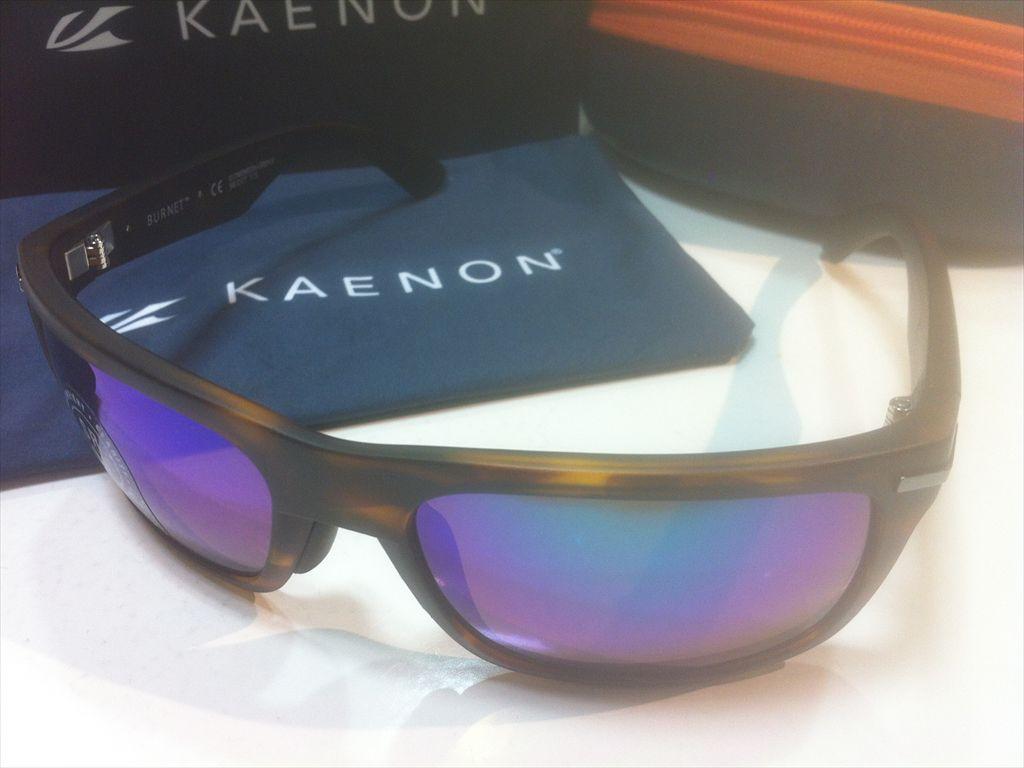 KAENON(ケーノン)BURNET(バーネット)017-MEMEGN-GREN(MATTE TORTOISE)サングラス偏光レンズ搭載
