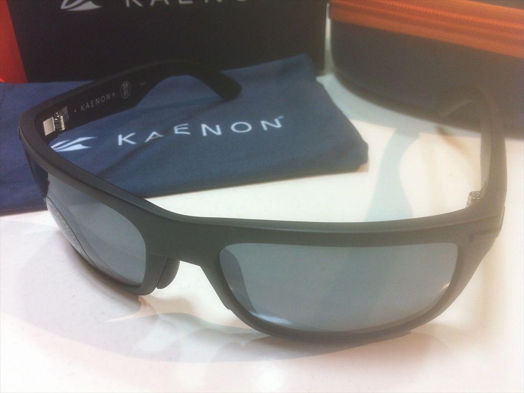 KAENON(ケーノン)BURNET(バーネット)017-BKLABK-G12M(BLACK LABEL)サングラス偏光レンズ搭載
