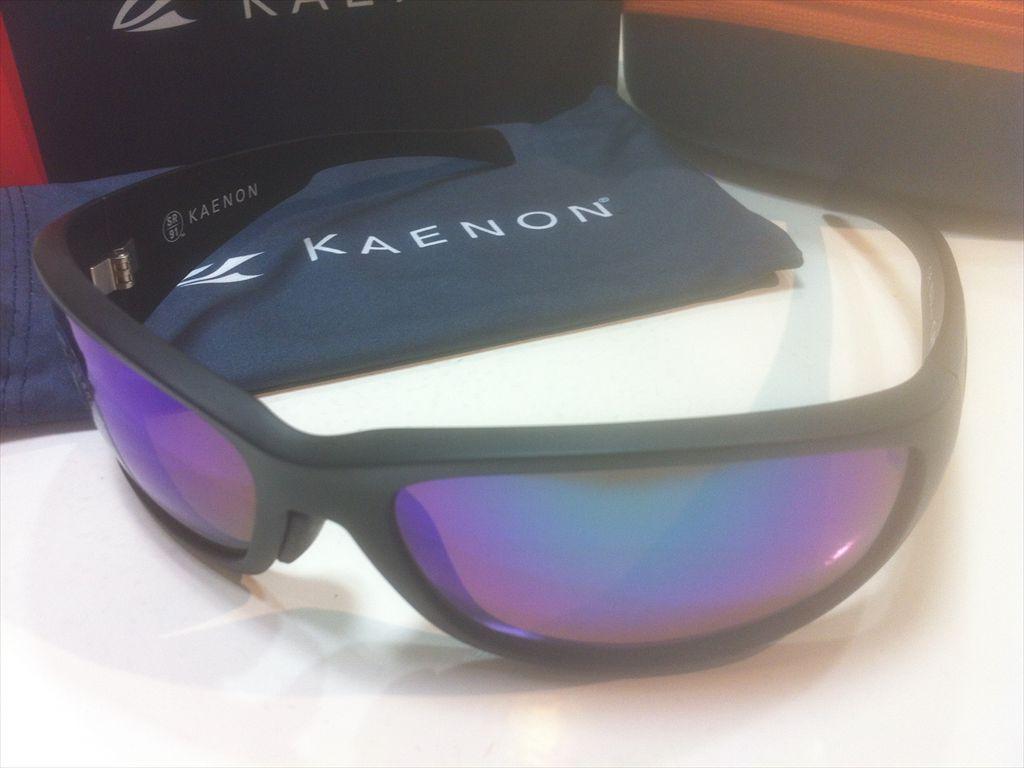 KAENON(ケーノン)CAPITORA(キャピトラ)042-MBMBGN-GREN(Matte Black)サングラス偏光レンズ搭載