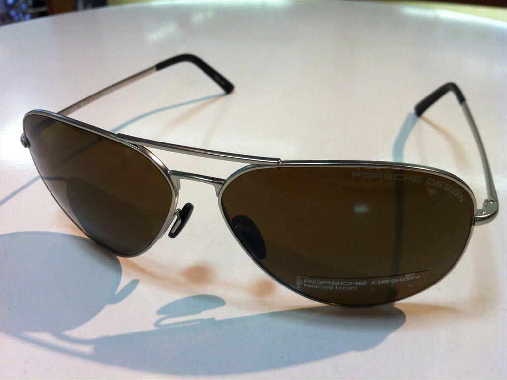 PORSCHE DESIGN(ポルシェデザイン)ポルシェデザインサングラス有名ブランドサングラス偏光サングラスP8508 M(マットパラジウムシルバー) 62サイズ