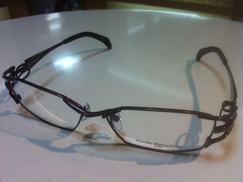 Masaki Matsushima(マサキマツシマ)MF-1210 3(ブラックボルドー/ブラック)58サイズメガネフレーム(メタルフレーム)高品質日本製メガネフレーム有名ブランドメガネフレーム