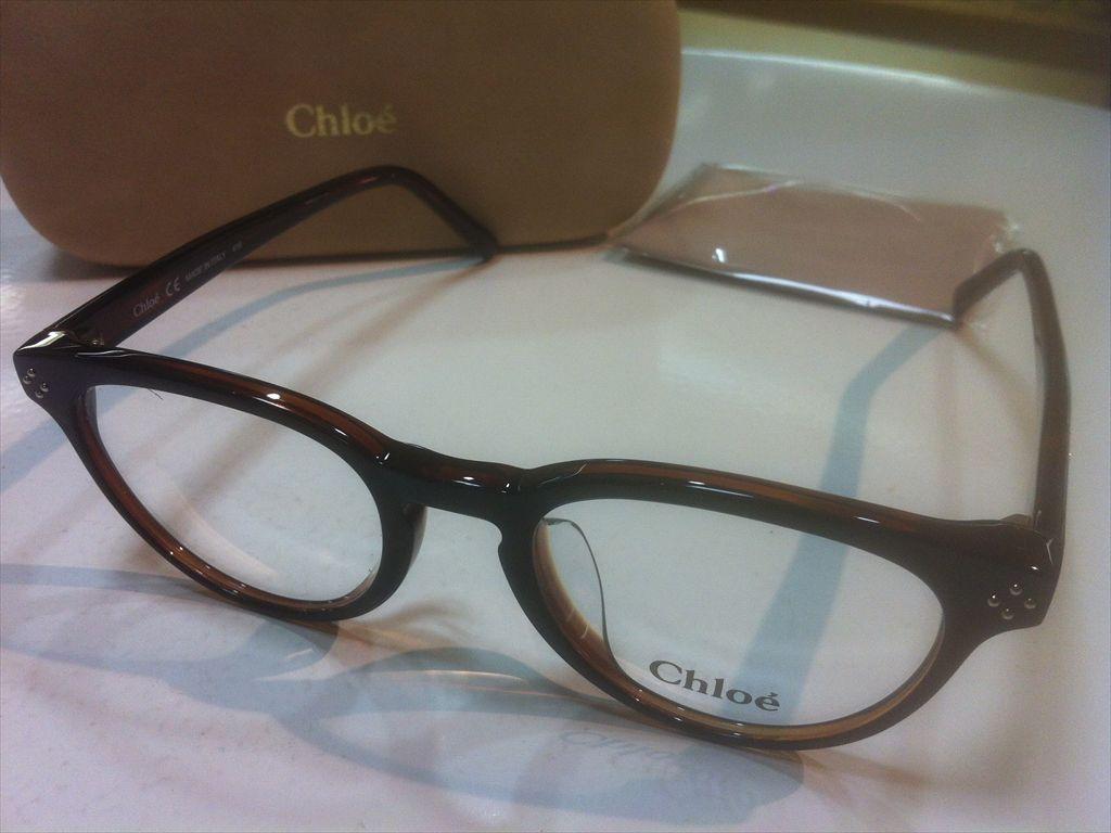 Chloe(クロエ)CE2680A 004(ダークブラウン) 49サイズメガネフレーム(セルフレーム)有名ブランドメガネフレーム