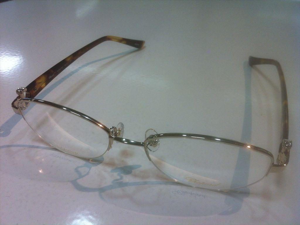 Chopard(ショパール)VCHC16J 0579(ゴールド/ライトデミブラウン)52サイズメガネフレームナイロール:グラスマーケット