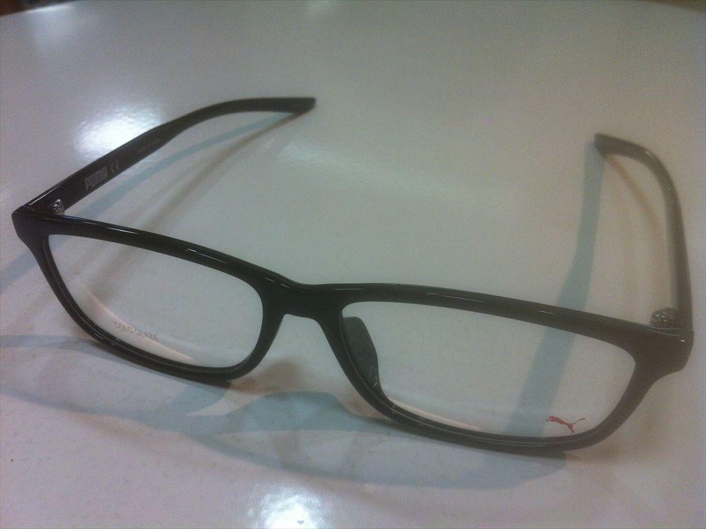 PUMA(プーマ)PU0185OA 001(ブラック)55サイズメガネフレームセル