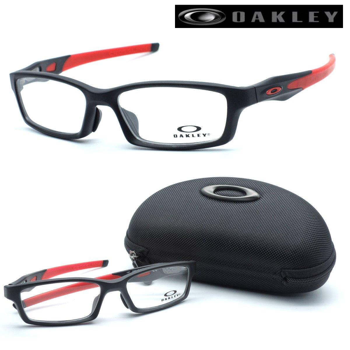 【OAKLEY】 (オークリー) メガネ ox8118-0456 CROSSLINK ASIA FIT クロスリンク アジアフィット スクエア OAKLEY 度付又は度無レンズセット 【正規品】【店内全品送料無料】メンズ レディース ユニセックス