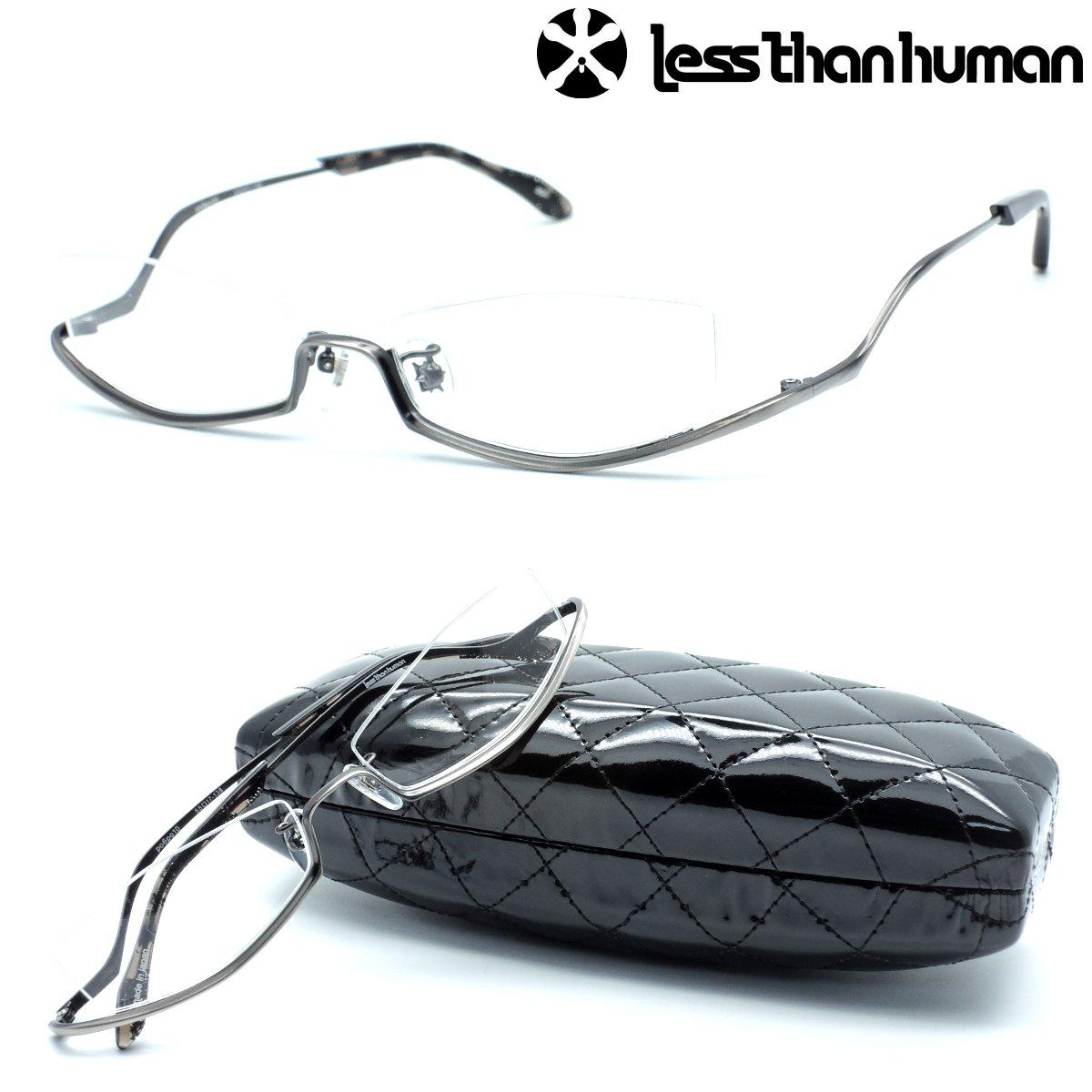 【less than human】レスザンヒューマン ポルポト po6po10 col.89m NEWカラー メガネ 度無又は度付レンズセット 【正規品】【店内全品送料無料】