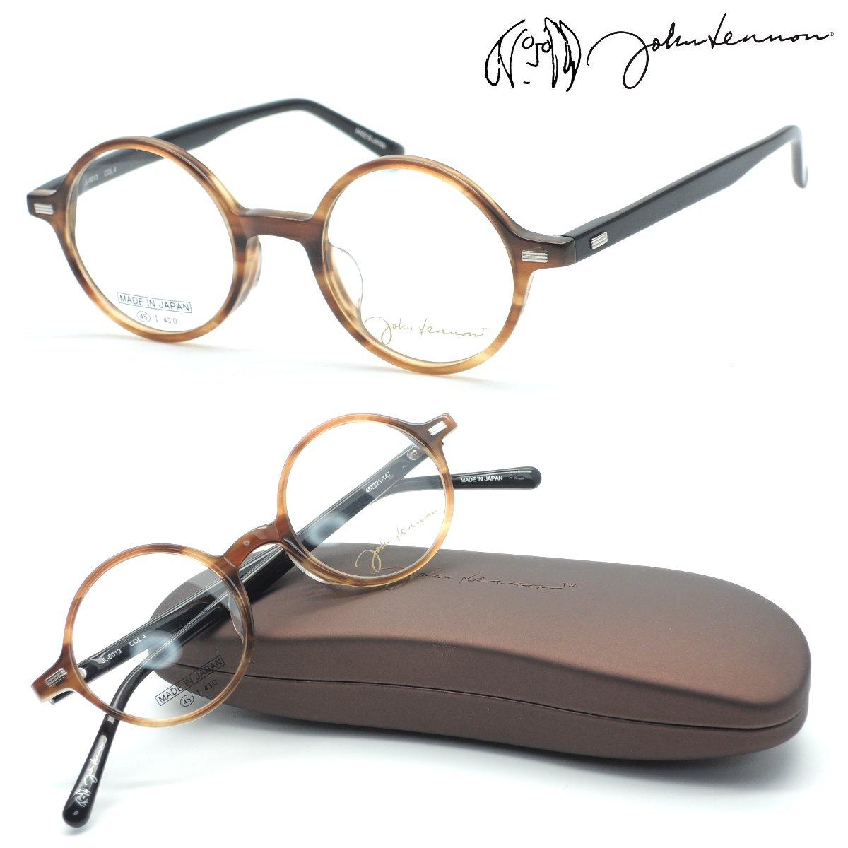 【john lennon】ジョンレノン JL-6013 col.4 メガネ 度付又は度無レンズセット 日本製 【正規品】【店内全品送料無料】【丸メガネ】