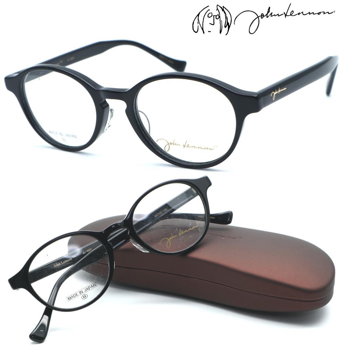 【john lennon】ジョンレノン JL-6001 col.1 メガネ 標準レンズセット  【正規品】【店内全品送料無料】
