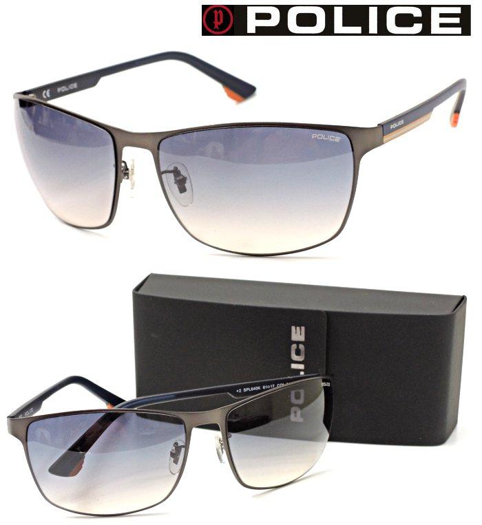 【POLICE】ポリス サングラス SPL640K col.0627 Made in Italy【国内正規品】【店内全品送料無料】メンズ ユニセックス