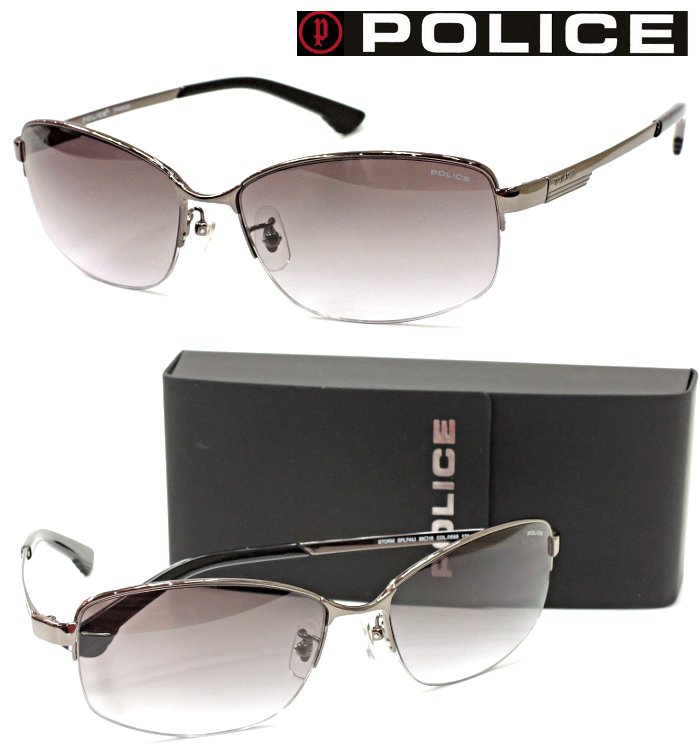 【POLICE】ポリス サングラス SPL744J col.0568 【国内正規品】【店内全品送料無料】メンズ ユニセックス