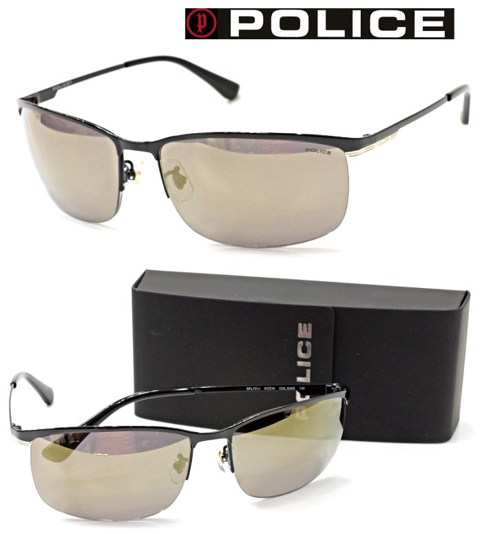 【POLICE】ポリス サングラス SPL751J col.530G 【国内正規品】【店内全品送料無料】メンズ ユニセックス