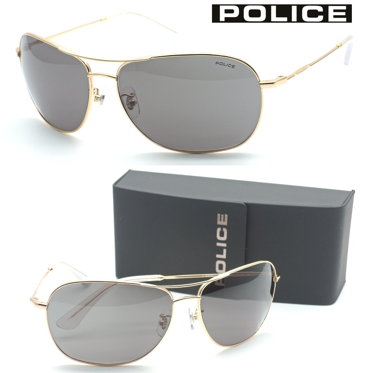 【POLICE】ポリス サングラス SPL358I col.0349 Made in Italy【国内正規品】【店内全品送料無料】メンズ ユニセックス
