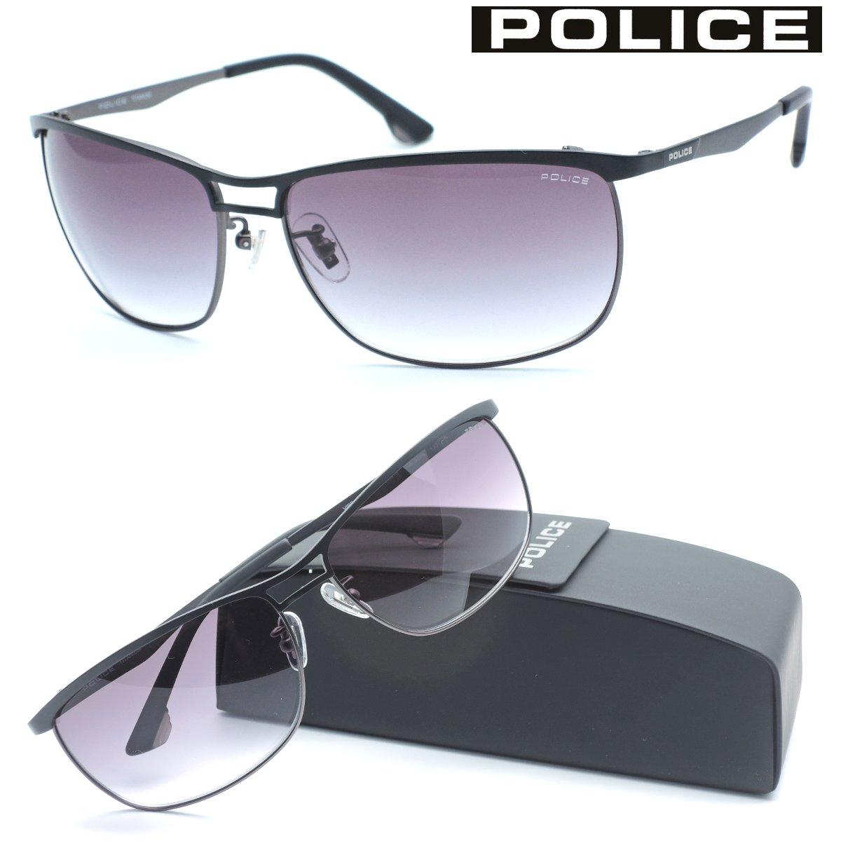 【POLICE】ポリス サングラス SPL918J col.531N【国内正規品】【店内全品送料無料】メンズ ユニセックス