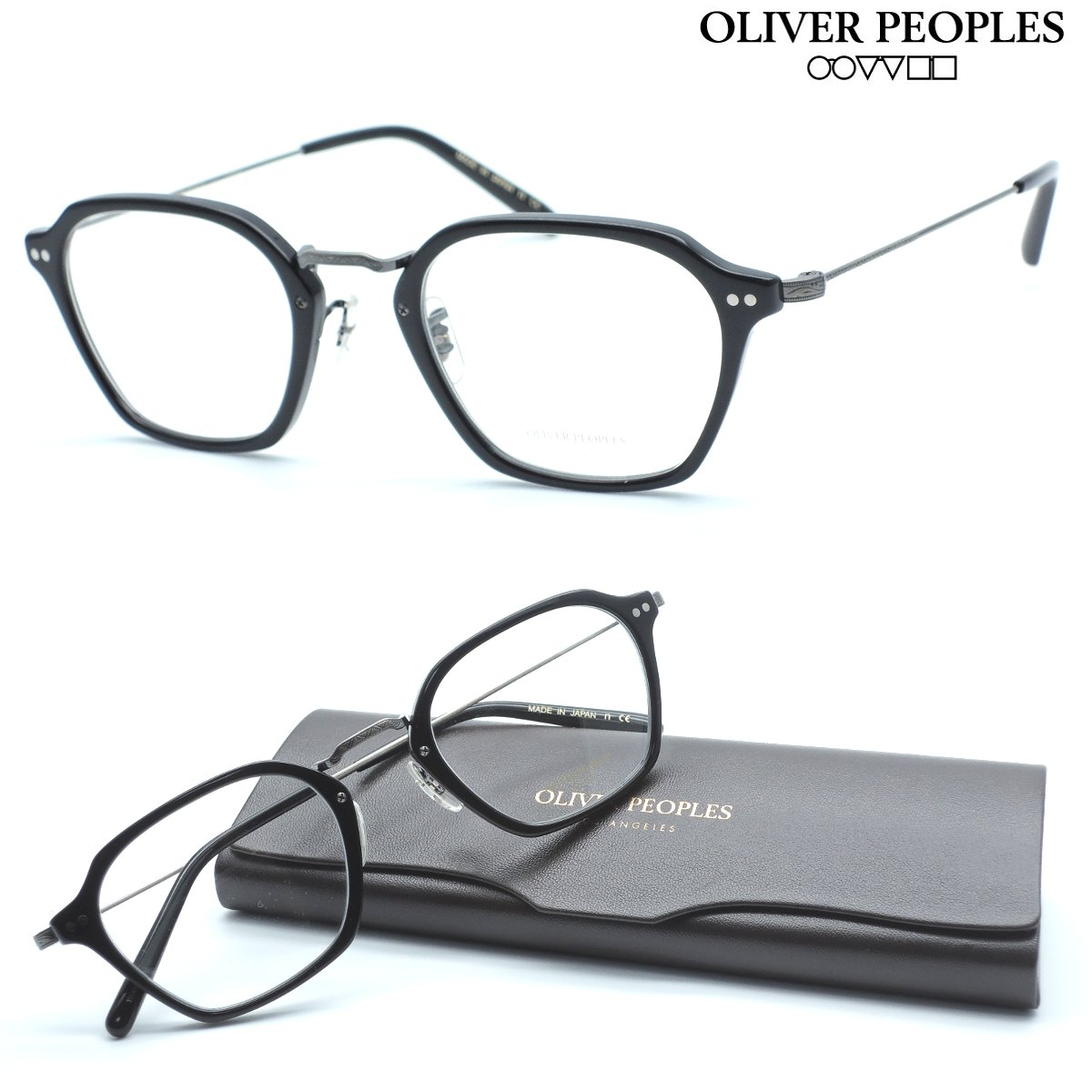 【OLIVER PEOPLES】オリバーピープルズ メガネ OV5422D col.1681 HILDEN 度付又は度無レンズ標準装備 【oliver peoples オリバーピープルズ 】【店内全品送料無料】【正規代理店品】クラシック ボストン