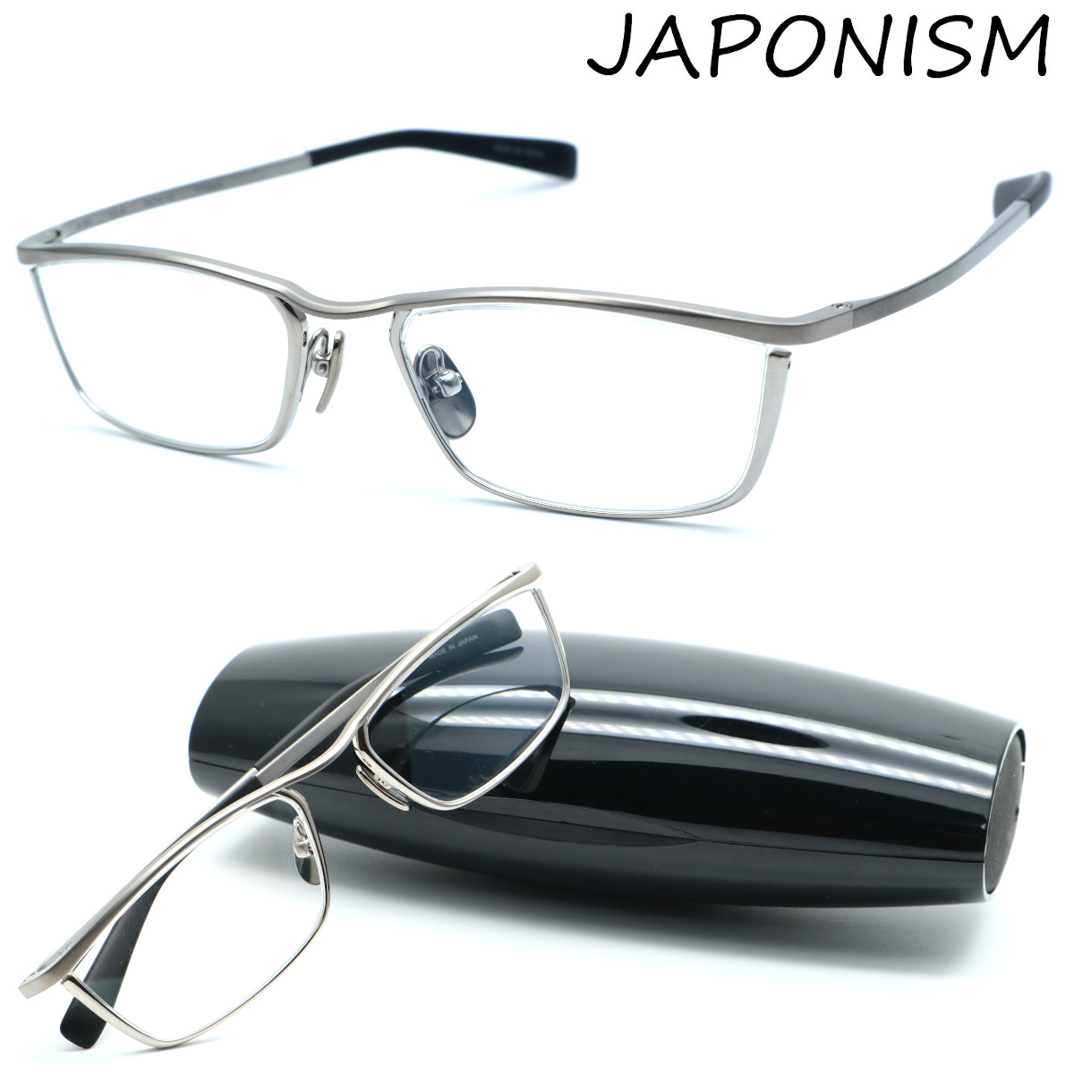 【JAPONISM】ジャポニズム メガネ JN-653 col.01 度付又は度無レンズ標準装備 MADE IN JAPAN【店内全品送料無料】