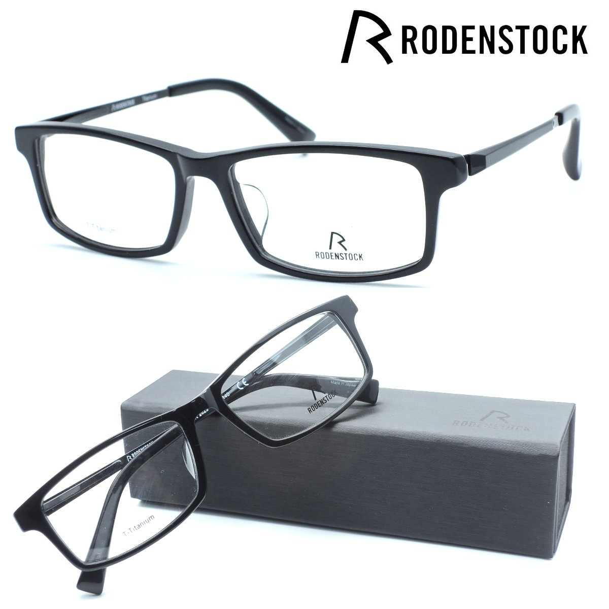 【RODENSTOCK】ローデンストックメガネ R2029 col.A 度付又は度無レンズセット【正規品】【店内全品送料無料】
