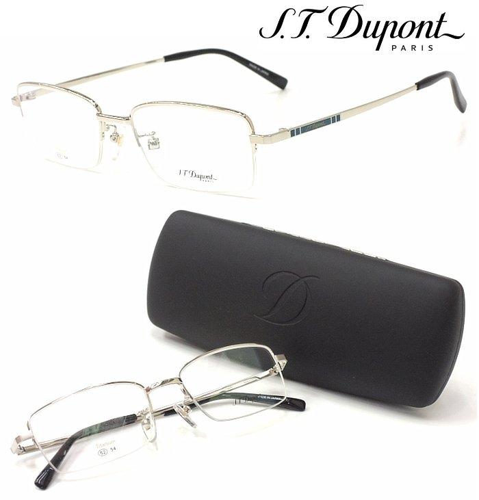 【S.T.Dupont】 デュポン メガネ DP-2019 col.1 度付又は度無レンズセット 【正規品】【店内全品送料無料】