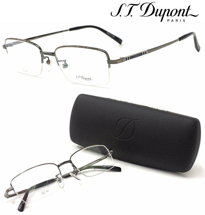 【S.T.Dupont】 デュポン メガネ DP-2019 col.3 度付又は度無レンズセット 【正規品】【店内全品送料無料】