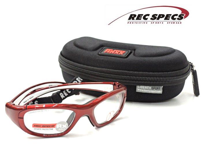 【REC SPECS】 レックスペックス MX-20B #700 レッド 子供用スポーツアイウエア 度付レンズ込【正規品】【店内全品送料無料】スポーツゴーグル カッコイイキッズメガネ