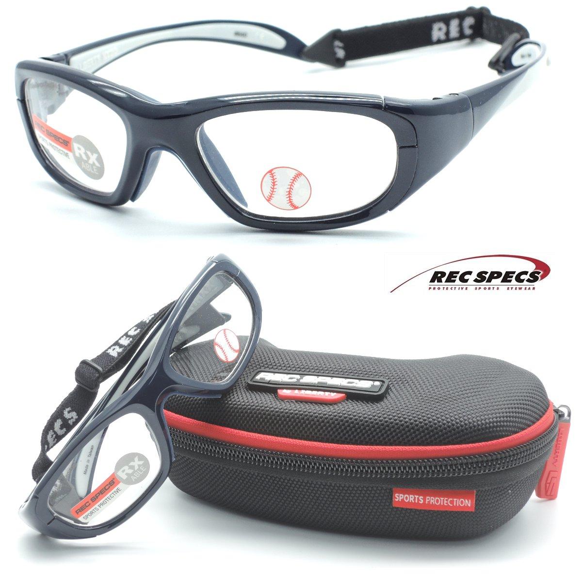 【REC SPECS】 レックスペックス MX-20B #640 ネイビー 子供用スポーツアイウエア 度付レンズ込【正規品】【店内全品送料無料】スポーツゴーグル カッコイイキッズメガネ