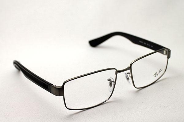 明日の朝9時59分終了 ほぼ全品20~25%ポイントバック 正規レイバン日本最大級の品揃え  レイバン メガネ フレーム Ray-Ban RX6319 2620 伊達メガネ 度付き ブルーライト ブルーライトカット 眼鏡 メタル 黒縁 RayBan スクエア