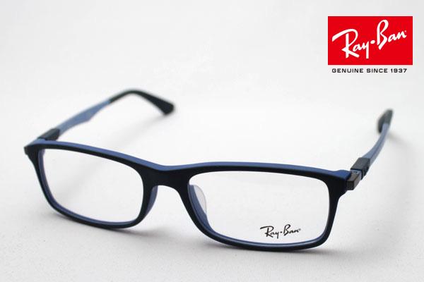 4月5日(金)23時59分終了 ほぼ全品ポイント20倍+5倍+2倍 正規レイバン日本最大級の品揃え レイバン メガネ フレーム Ray-Ban RX7017F 5229 伊達メガネ 度付き ブルーライト カット 眼鏡 RayBan スクエア