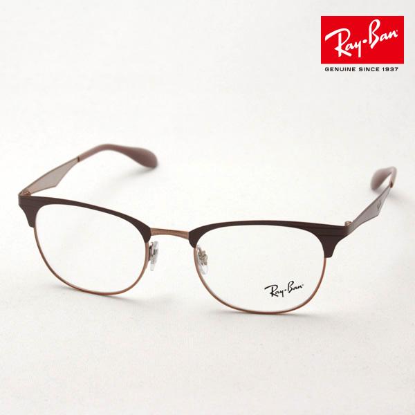 今夜23時59分終了 ほぼ全品がポイント15~20倍 正規レイバン日本最大級の品揃え レイバン メガネ フレーム Ray-Ban RX6346 2973 伊達メガネ 度付き ブルーライト ブルーライトカット 眼鏡 メタル RayBan NewModel ブロー
