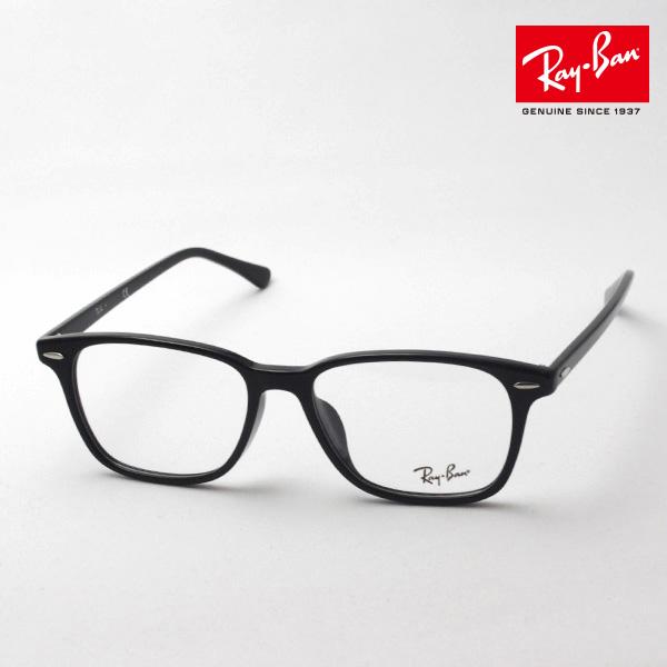 1月25日(金)23時59分終了 ほぼ全品ポイント15倍+5倍 正規レイバン日本最大級の品揃え レイバン メガネ フレーム Ray-Ban RX7119F 2000 伊達メガネ 度付き ブルーライト カット 眼鏡 黒縁 RayBan スクエア