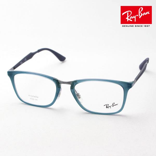 明日の朝9時59分終了 ほぼ全品がポイント15~20倍 正規レイバン日本最大級の品揃え レイバン メガネ フレーム Ray-Ban RX7131 8019 伊達メガネ 度付き ブルーライト ブルーライトカット 眼鏡 RayBan NewModel スクエア