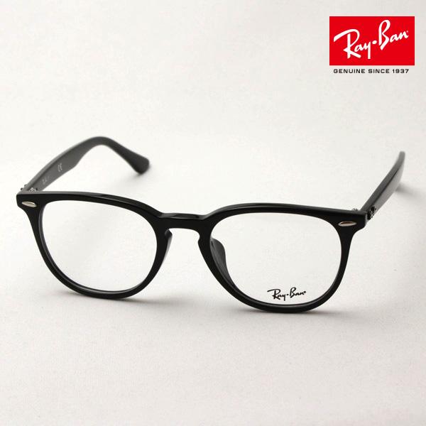 4月7日(日)23時59分終了 ほぼ全品ポイント20倍 正規レイバン日本最大級の品揃え レイバン メガネ フレーム Ray-Ban RX7159F 2000 伊達メガネ 度付き ブルーライト カット 眼鏡 黒縁 RayBan スクエア