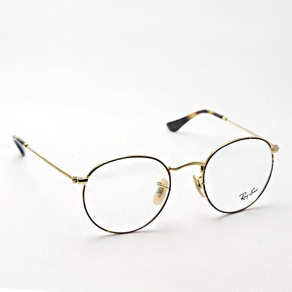 正規レイバン日本最大級の品揃え  レイバン メガネ フレーム Ray-Ban RX3447V 2945 伊達メガネ 度付き ブルーライト ブルーライトカット 眼鏡 メタル 丸メガネ RayBan NewModel ラウンド