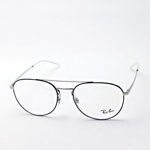 正規レイバン日本最大級の品揃え  レイバン メガネ フレーム アビエーター Ray-Ban RX6414 2983 伊達メガネ 度付き ブルーライトカット 眼鏡 アビエーター RayBan NewModel ティアドロップ