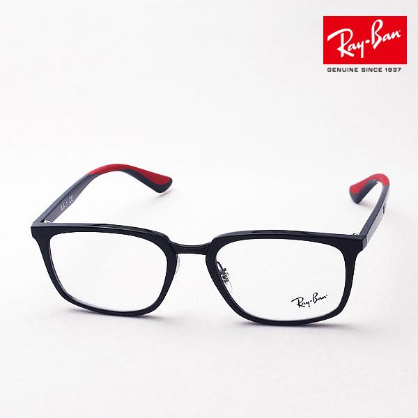 4月7日(日)23時59分終了 ほぼ全品ポイント20倍 正規レイバン日本最大級の品揃え レイバン メガネ フレーム Ray-Ban RX7148 5795 伊達メガネ 度付き ブルーライト カット 眼鏡 RayBan スクエア