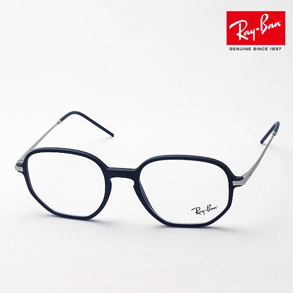 明日の朝9時59分終了 ほぼ全品がポイント15~20倍 正規レイバン日本最大級の品揃え レイバン メガネ フレーム Ray-Ban RX7152 5364 伊達メガネ 度付き ブルーライト ブルーライトカット 眼鏡 RayBan NewModel オーバル